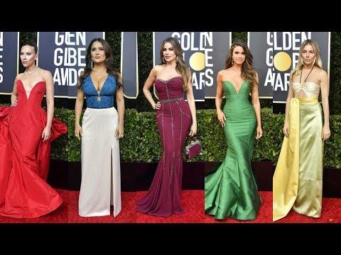 Golden Globe Awards 2020 Red Carpet Arrivals & Best Women Dress