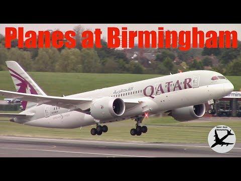 Plane Spotting at Birmingham Airport | 24/09/17