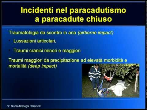 Traumatologia degli sport dell'Aria – Dott. Guido Alemagni Pimpinelli
