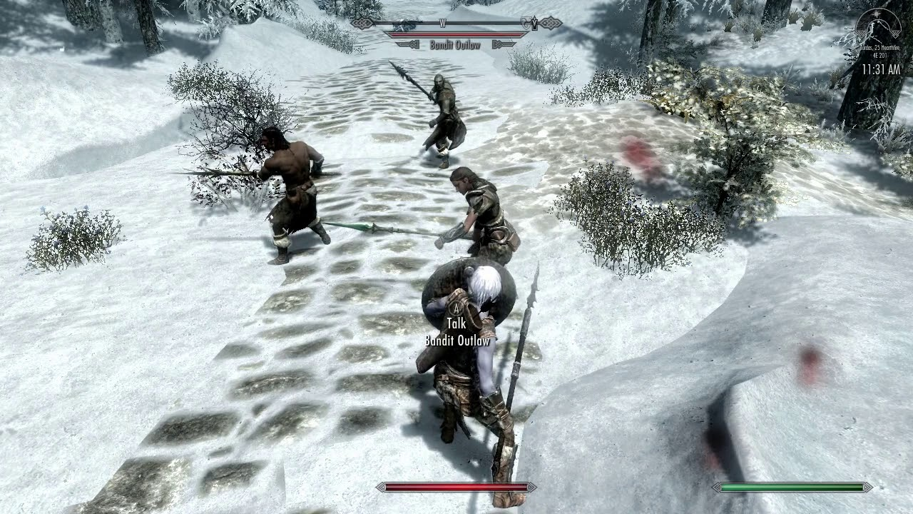 Skyrim Spear Mechanic: Version 1 1