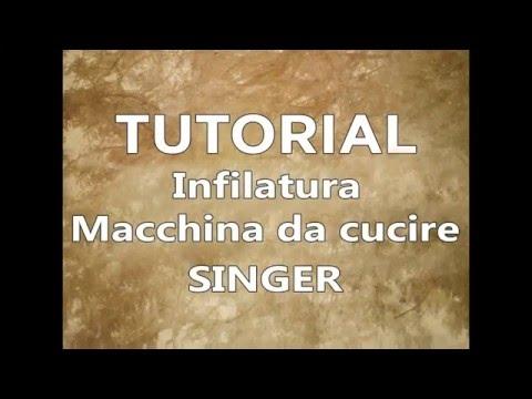 Tutorial cucito infilatura macchina da cucire singer for Macchina da cucire singer simple