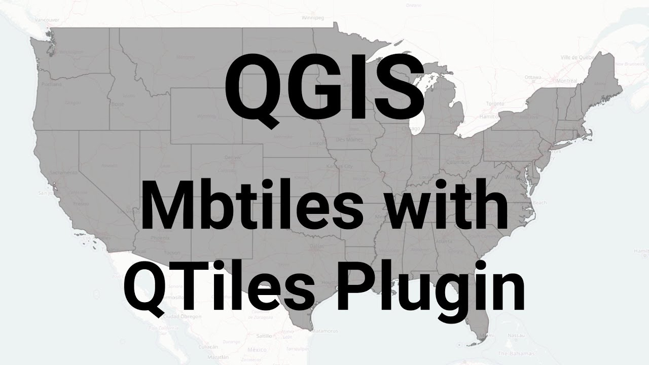 QGIS: Create mbtiles with QTiles plugin by Anthony Blackham