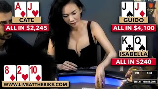 Athena Cate STEALS the Show!!! ♠ Live at the Bike!