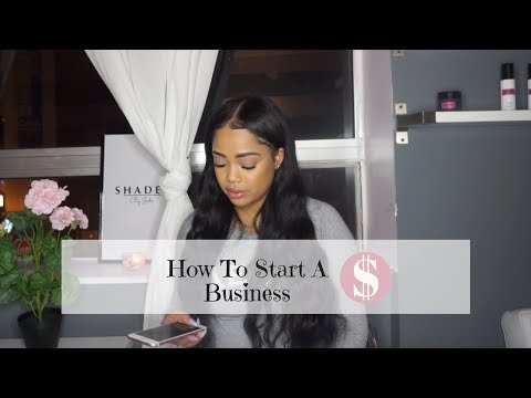 How To start A Business With Little Money | ShadedByJade