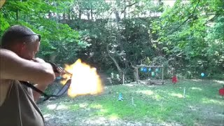 shooting a 44 magnum lever action rifle