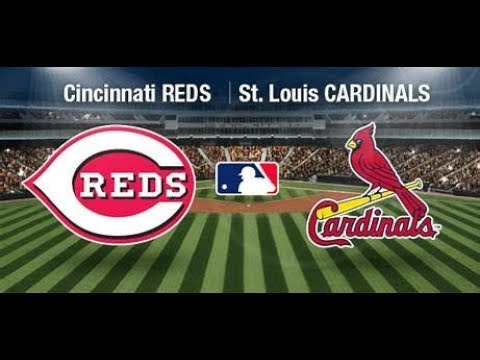 STL Cardinals  Vs Cincinnati Reds MLB Live Stream Play By Play & Chat