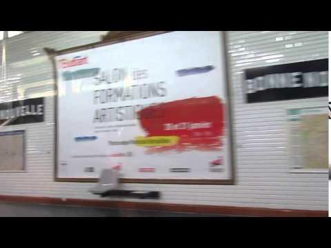 Station bonne Nouvelle ligne 9 du métro à Paris