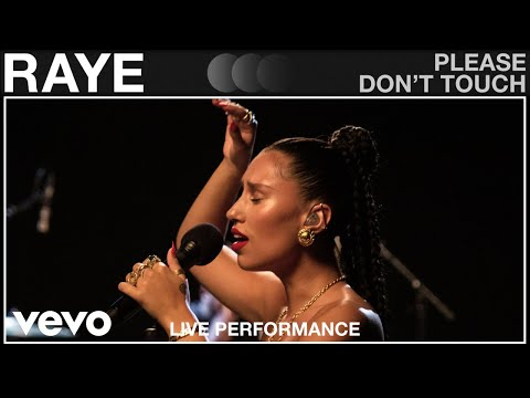 RAYE - Please Don't Touch (VEVO Live Performance)