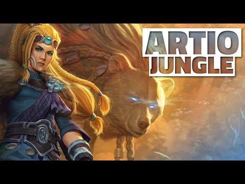 SMITE Artio Jungle Gameplay - THE BROKEN BEAR
