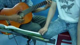 dem hat  guitar : qua con me