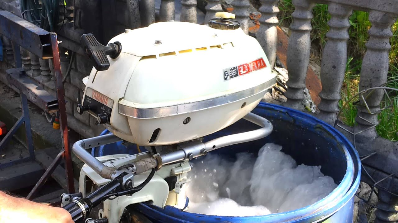 1970 Yamaha 3 5 Hp P 65 Outboard Motor Air Cooled 2 Stroke