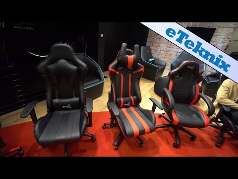 Aerocool Showcase Living Room Furniture and Gaming Chairs
