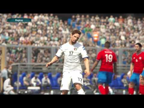 PES17: Costa Rica vs Kuwait
