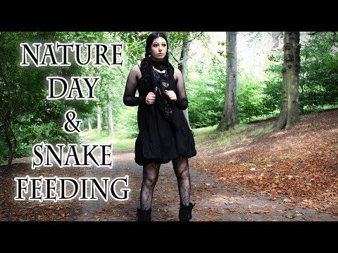 OOTD + Nature Day & Snake Feeding | Toxic Tears