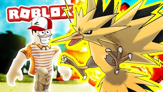 ZAPDOS! / Pokemon Fighters EX / Roblox Adventures