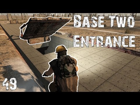 Building the Entrance to Base Two | 7 Days to Die | S4E49 | Alpha 16 Gameplay