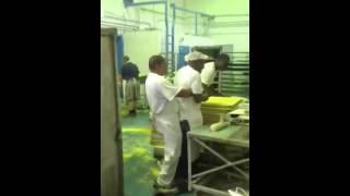 Black fuckers in Bakery черная Ебля в Пекарне