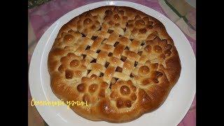 Постный Пирог с яблочной начинкой / Поститесь Вкусно!
