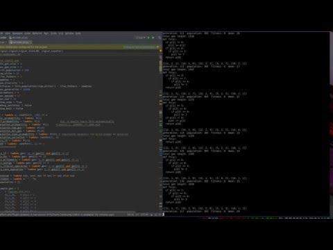 AI Coder - genetical algorithms approach for python generation
