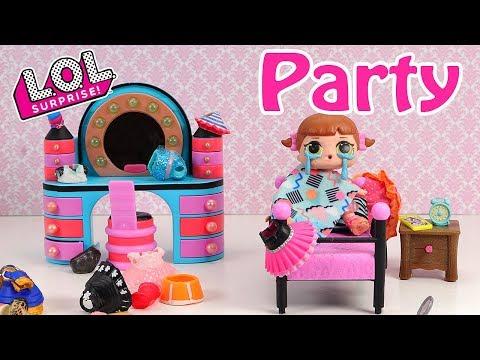 馃帀馃憲LOL Surprise Doll Party Invitation Stop Motion Video馃帀馃憲馃尲