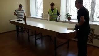 Обзор урок 2 по настольному теннису для слепых Владивосток 2019