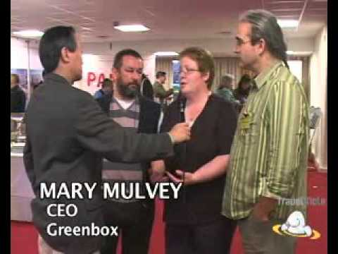 Mary Mulvey, CEO  Greenbox & John Rurbery, Director of Special Projects  Northern Ireland ...