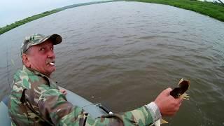 Рыбалка в жару 2!Ерш на Мегабас Каната и д.р.
