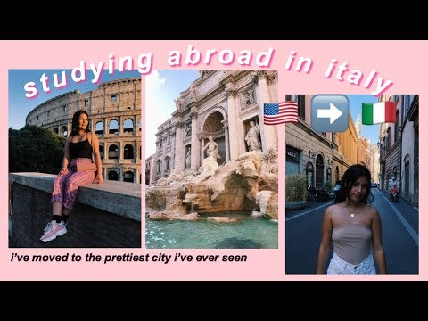 Study ABROAD In Rome, ITALY   A Day In My Life Vlog