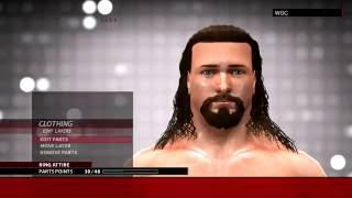 WWE 2K16 BRIAN KENDRICK CAW FORMULA(XBOX 360/PS3)