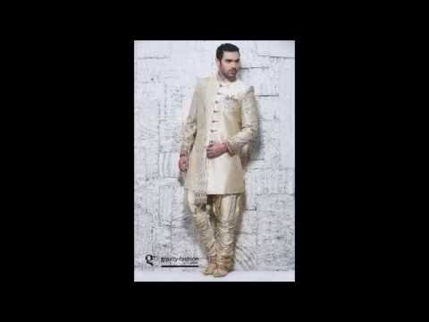 Indian Wedding Sherwani Suit Collection 2017 - Gravity Fashion