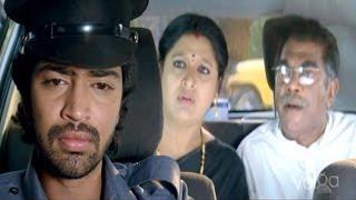Saradaga Kasepu Scenes - Rangababu Take His Owner To Air Port Comedy Scene - Allari Naresh, Srinivas