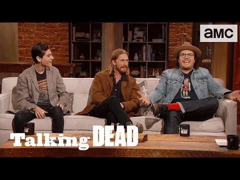 'Eugene's Relationship with Negan' Highlights Ep. 807 | Talking Dead
