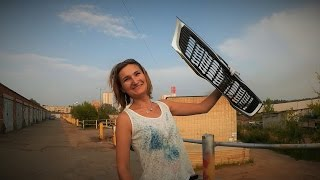Сетка в решетку радиатора на автомобиле Киа Рио(, 2016-07-29T15:49:41.000Z)