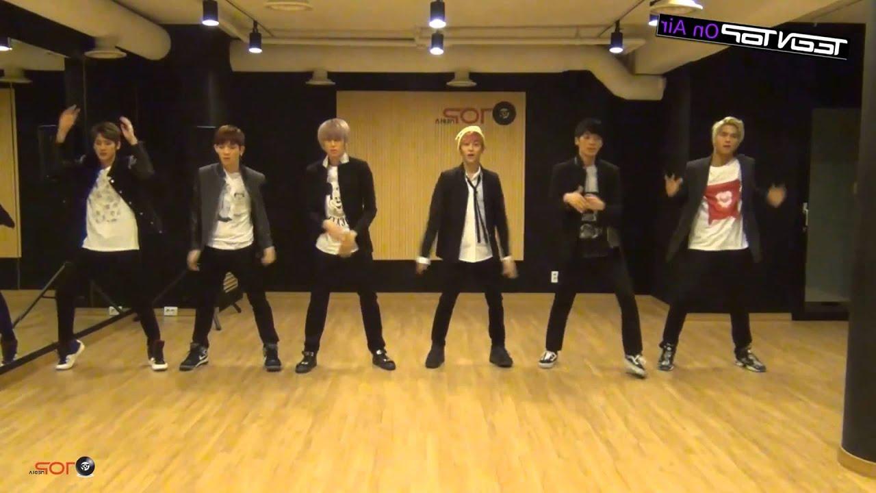 Teen Top Rocking Mirrored Dance Practice - Youtube-2463