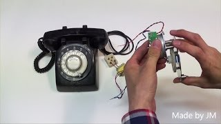 Rotary Dial Phone Ringing without telephone connection