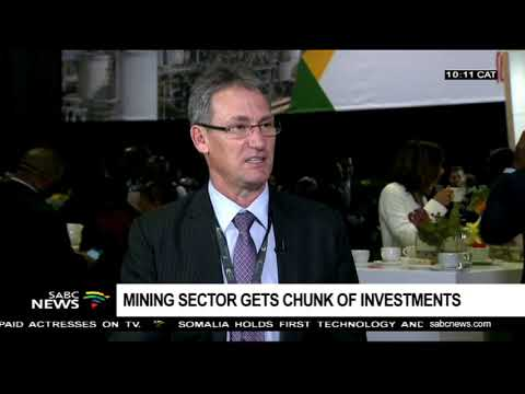Mining sector gets chunk of investments at SA Investment conference