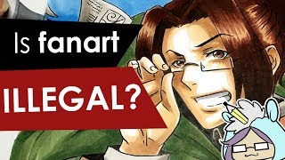 IS FANART ILLEGAL ? Drawing Hanji Zoe from Attack on titan
