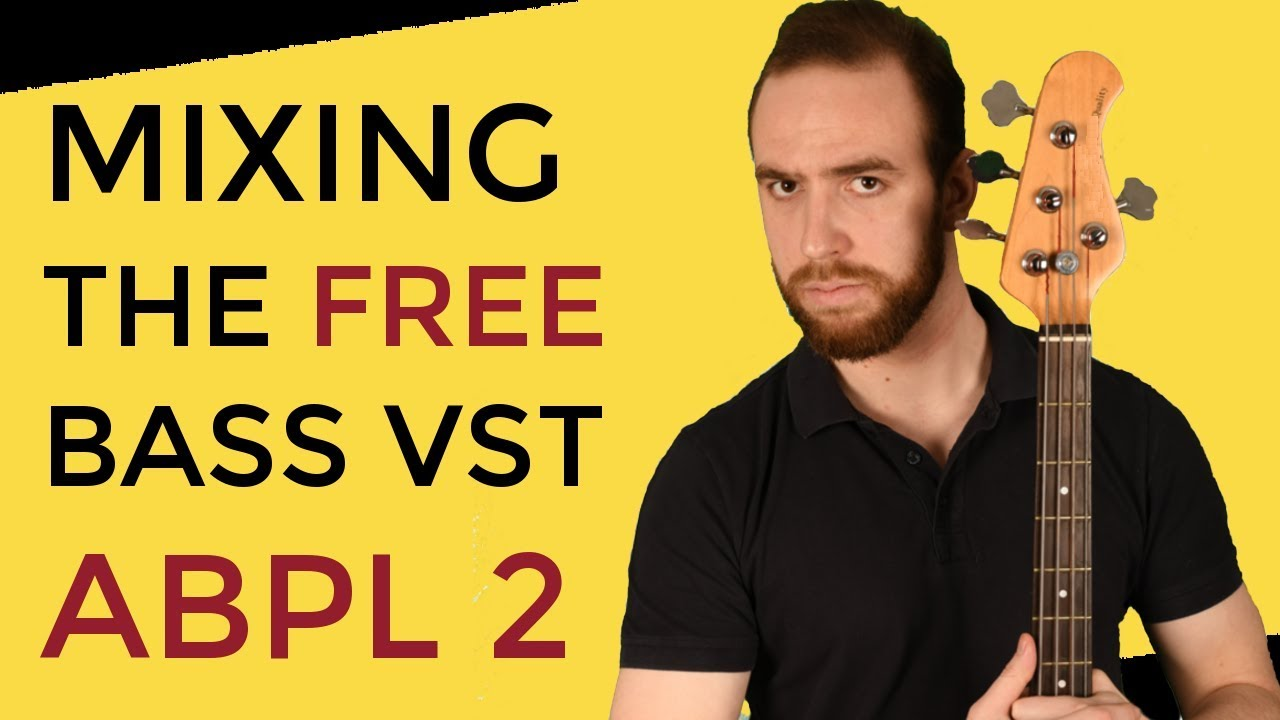 Free bass VST plugin : how to mix ABPL 2 (Part 2 : EQ & sidechaining)