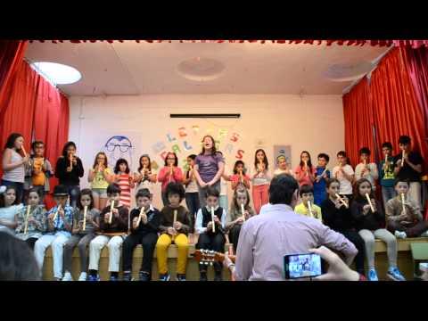 ACTUACIÓN MUSICAL 3º, 4º DE PRIMARIA