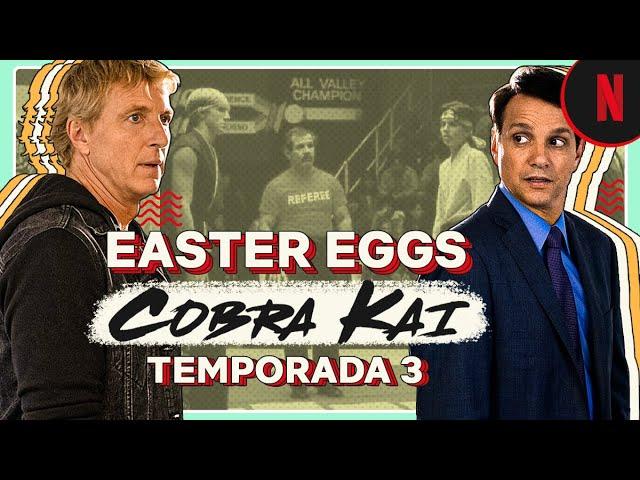 Cobra Kai | Easter eggs en la temporada 3 | Netflix