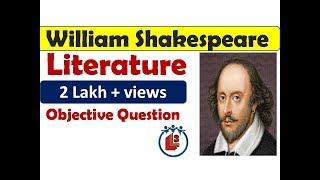 William Shakespeare / objective questions / TET / NVS / B.A / M.A / NET/ STET #REET#DSSB#