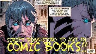 SCRIPT DOWN: STORY TO ART IN COMIC BOOKS