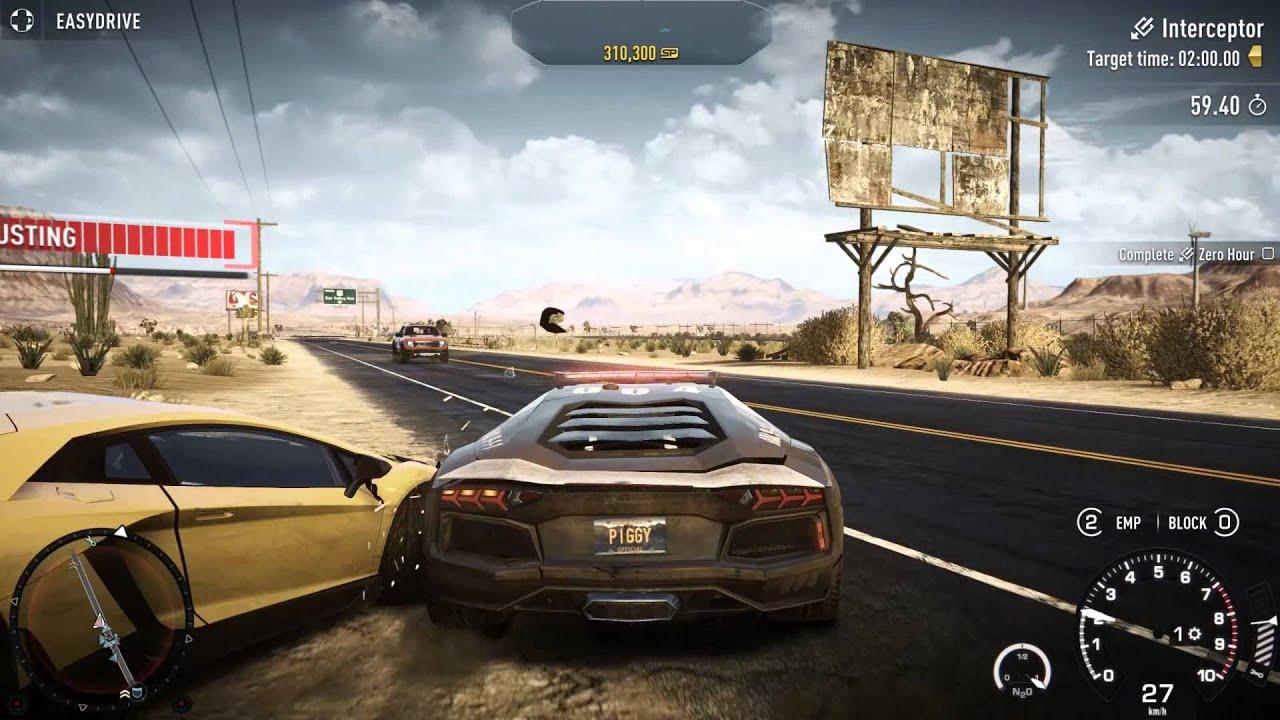 Need For Speed Rivals Interceptor Hard Zero Hour
