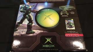 ORIGINAL! Xbox HALO (Combat Evolved Edition) Console UNBOXING!!