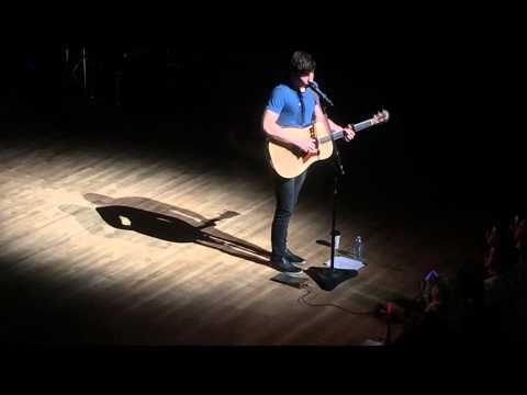 Shawn Mendes - Speech + A Little Too Much in Calgary 05-08-2015