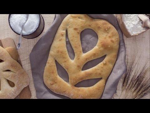 Fougasse bread - recipe
