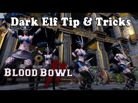 Dark Elf Coaching : Starting Lineup, Tips & Tricks [Blood Bowl 2]