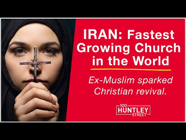 Ex-Muslim sparks Christian revival in IRAN, fastest growth in world.