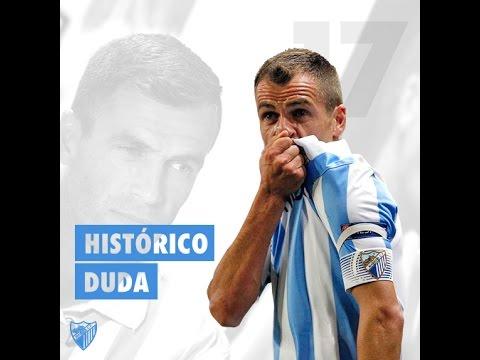 """Duda: """"El Málaga CF es mi segunda casa"""""""