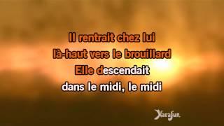 Karaoké Une belle histoire - Michel Fugain *